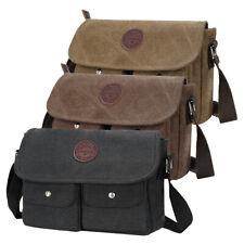 Men Hiking Messenger Bag Travel Canvas Bag Crossbody School Shoulder Bag Satchel