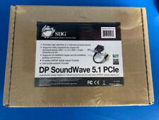 SIIG DP SoundWave PCI Express x1 (IC-510111-S2) Sound Card