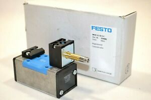 Festo Mfh-5/2-d-1-c Solenoid Valve New! New