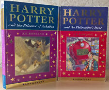 2 Celebration First Editions - the Philosopher's Stone & the Prisoner Of Azkaban