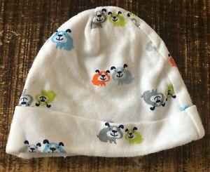 Baby Boys Herber Newborn Dog Pattern Hat