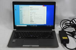 """Toshiba Portege Z30-B Ultrabook 13.3"""" i7-5500U 2.4Ghz 8GB 128GB Laptop Computer"""