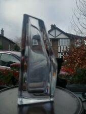 More details for vintage art deco daum crystal heavy (4kg). glass vase. signed.