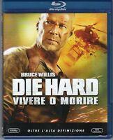Die Hard Vivere o Morire Blu Ray Nuovo Sigillato Bruce Willis