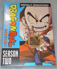 DRAGON BALL Temporada 2 TWO DRAGON BALL DVD Box Set - Nuevo y sin abrir