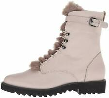 Franco Sarto Womens Canon Leather Closed Toe Ankle Combat Boots