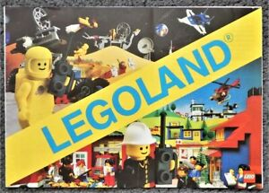 Vintage Lego Legoland Catalogue Booklet 1982 - 12 Pages - Folded Down The Middle