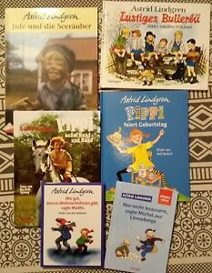 Astrid Lindgren - Bücherpaket  - Bilderbücher + Vorlesen – gebunden