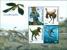 2019 Dinosaurs MS 4 values Prehistoric archaeopteryx ornithomimus