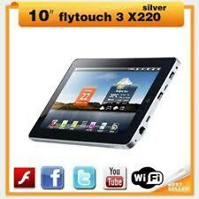10 inch superpad 3 android 2.3 tablet GPS flytouch 3