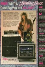 1990 George Lynch Mob for Signature Series Guitar Rig - Vintage Ad