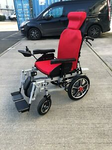 Portable Folding Electric Wheelchairs Elderly Disabled Scooter Foldable 6005