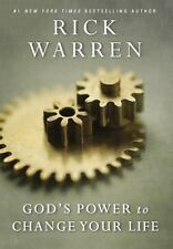 Living with Purpose God's Power to Change Your Life by Rick Warren 2014 Hardcove