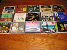 Lot of [15] Mozart, Beethoven, Orchestra Symphony Classical Music mix, CDs]