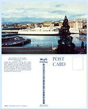 MV Queen Victoria British Columbia Ferry Ship Canada Postcard
