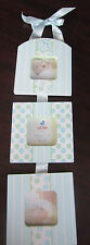 """Gund Baby Li'l Boutique Triple Opening Photo Frame 58906 2"""" X 2"""" New In Box"""
