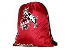 Uhlsport 1. FC Köln Gym Bag rot Effzeh Sportbeutel Turbeutel Tasche ca.47x40 cm