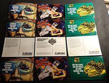 (12) 1995 & 1996 VINTAGE SKI-DOO SNOWMOBILE  UNUSED POST CARDS READ   (814)