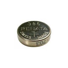 #386 (SR43W) Renata Mercury Free Watch Batteries - Strip of 10