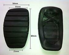 Pair Of Brake And Clutch Foot Pedal Cover Pad Rubbers For Vauxhall