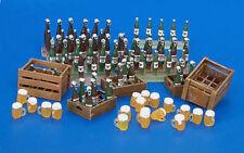 Plus Model 220 - 1:35 Resin Bausatz Bierkisten, -flaschen und -Gläser