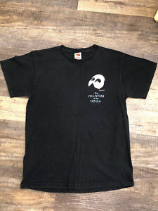 vintage phantom of the opera shirt 1986 M