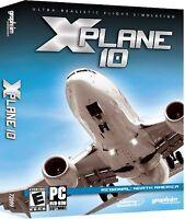 X-Plane 10 Regional North America - PC Flight Simulator Game - New