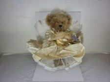 Nib Annette Funicello Collectible Bear Goldie New In Box