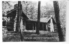 Port Jervis NY Trail Blazer Camps Boys' Camp Artvue Postcard 1930s