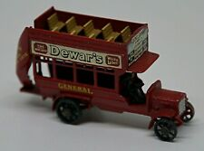 Matchbox 'B' type Bus - 'Dewar's' - Made in England by Lesney