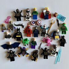 Genuine Lego Super Héroes Minifiguras, Accesorios, Repuestos etc. Marvel DC Paquete