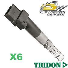 TRIDON IGNITION COIL x6 FOR Volkswagen Bora 06/01-02/05, V6, 2.8L AUE, BDE