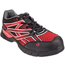 NWT $95 WOLVERINE Jetstream Red/Black Composite Toe Work Shoe W10692 Sz 9 EW