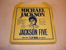 Michael Jackson and The Jackson 5 Five 7 LP Box Set Sealed Mega Rare Vinyl 80s