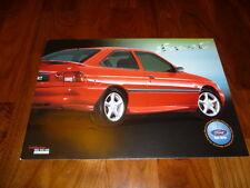 Ford Escort folleto España