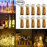 10 Stück 20LED 2M Flaschen-Licht Flaschenlichter Lichterketten Weinflasche Licht