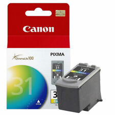 GENUINE CANON CL-31 COLOR INK CARTRIDGE Canon PIXMA iP1800, iP2600, MP140, MP210