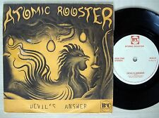 "Atomic Rooster Devil's Answer A-1 B-1 UK 7"" B&C BCS 21 1980 EX"