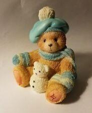"""Teddy Bear Figurine - Jack January P. Hillman appx 3"""" T x 2"""" W x 2"""" L Numbered"""