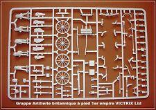 VICTRIX Grappe Artillerie britannique à pied 1er empire Figurines 28mm plastique