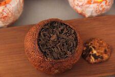 Dried tangerine or orange peel aged pu-erh tea ripe tea tea orange