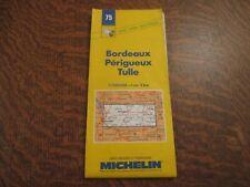 carte routiere michelin 75 bordeaux-perigueux-tulle