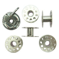 Sewing 5 Bobbins Bobbin Spool Case Set for Domestic Sewing Machine Thread Spool