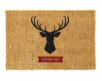 Betz paillasson rectangulaire coloré de 40 x 60 cm essuie-pieds tapis en fibre d