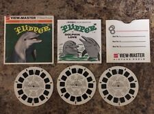 View-Master Viewmaster 1966 Flipper in Dolphin Love 3 Reel Set Packet B485