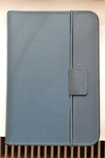 100% Genuine Amazon Kindle Keyboard leather lighted case with light - Blue