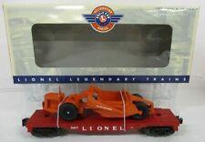 LIONEL 26024 6817 FLAT W/SCRAPER
