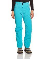 NEW Eider ST Anton Womens Ski Trousers pants Aqua Blue Size: UK 10 Reg RRP £200