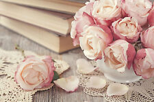 BEAUTIFUL ROSE FLOWERS CANVAS PICTURE #9 STUNNING FLORAL HOME DECOR A1 CANVAS