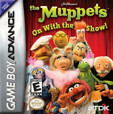 Muppets On With The Show GBA New Game Boy Advance